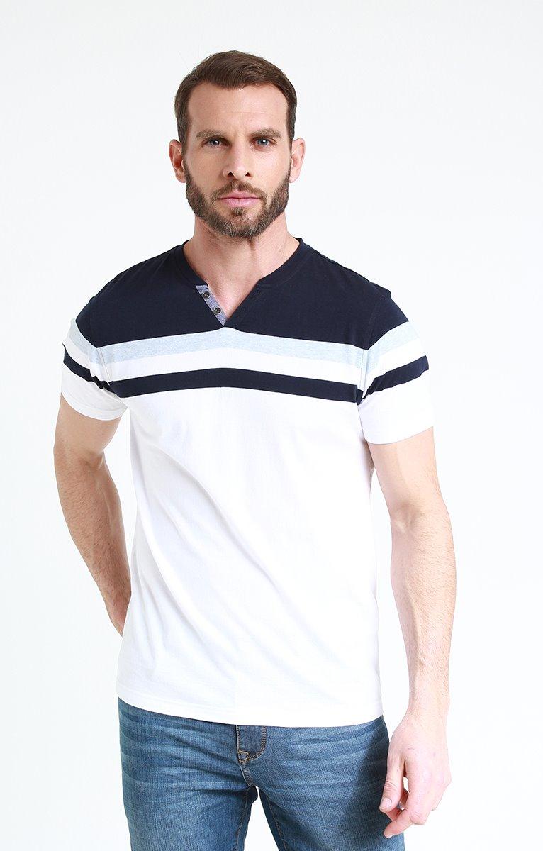 Tee shirt manches courtes blue