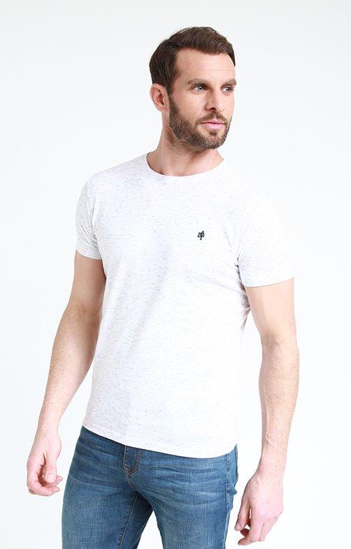 Tee shirt manches courtes col rdc