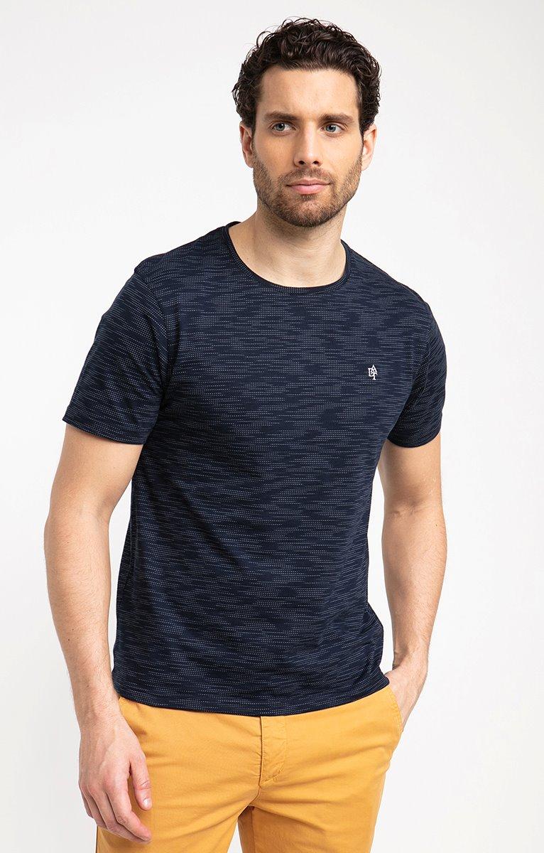 Tee shirt manches courtes picot