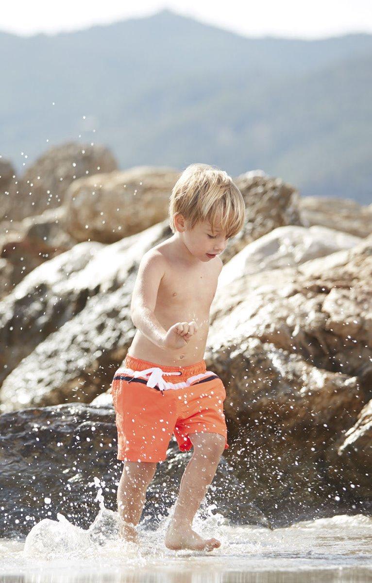 Short de bain enfant Fluo