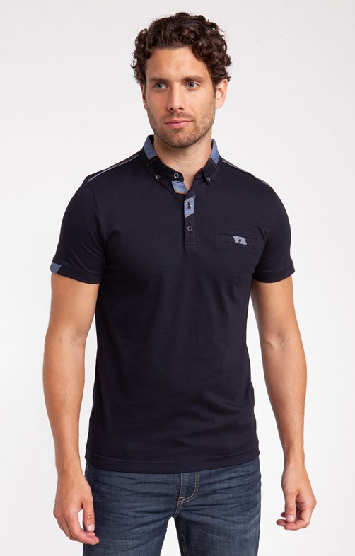 Polo manches courtes classe