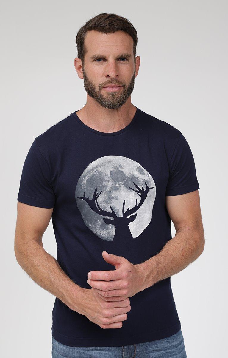 Tee shirt manches courtes moon
