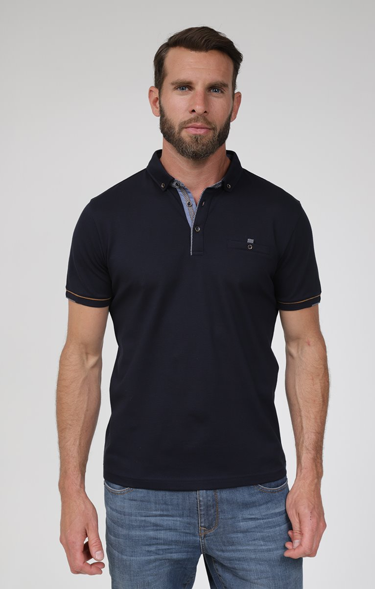 Polo manches courtes chic