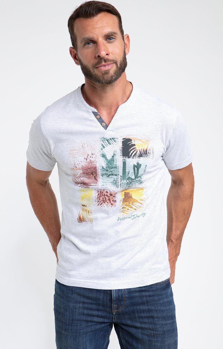 Tee shirt manches courtes savane