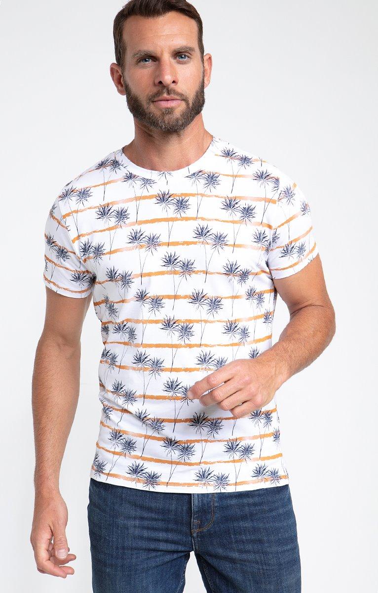 Tee shirt manches courtes palmy