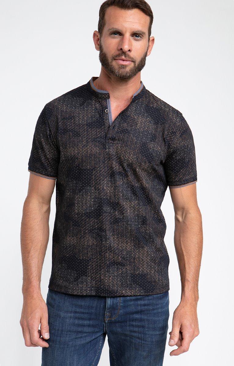 Tee shirt manches courtes flou
