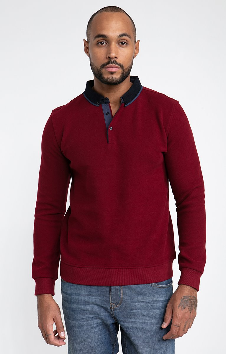 Polo manches longues dolce