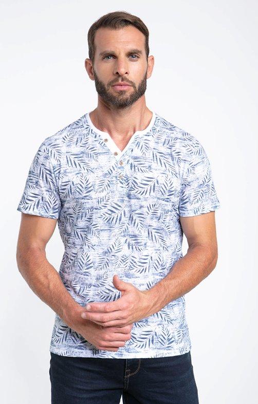 Tee shirt manches courtes fondu