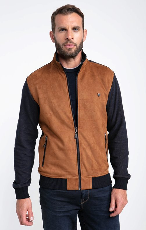 Gilet manches longues suedy