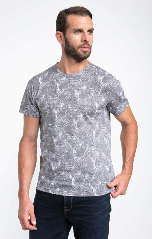 Tee shirt manches courtes brossy