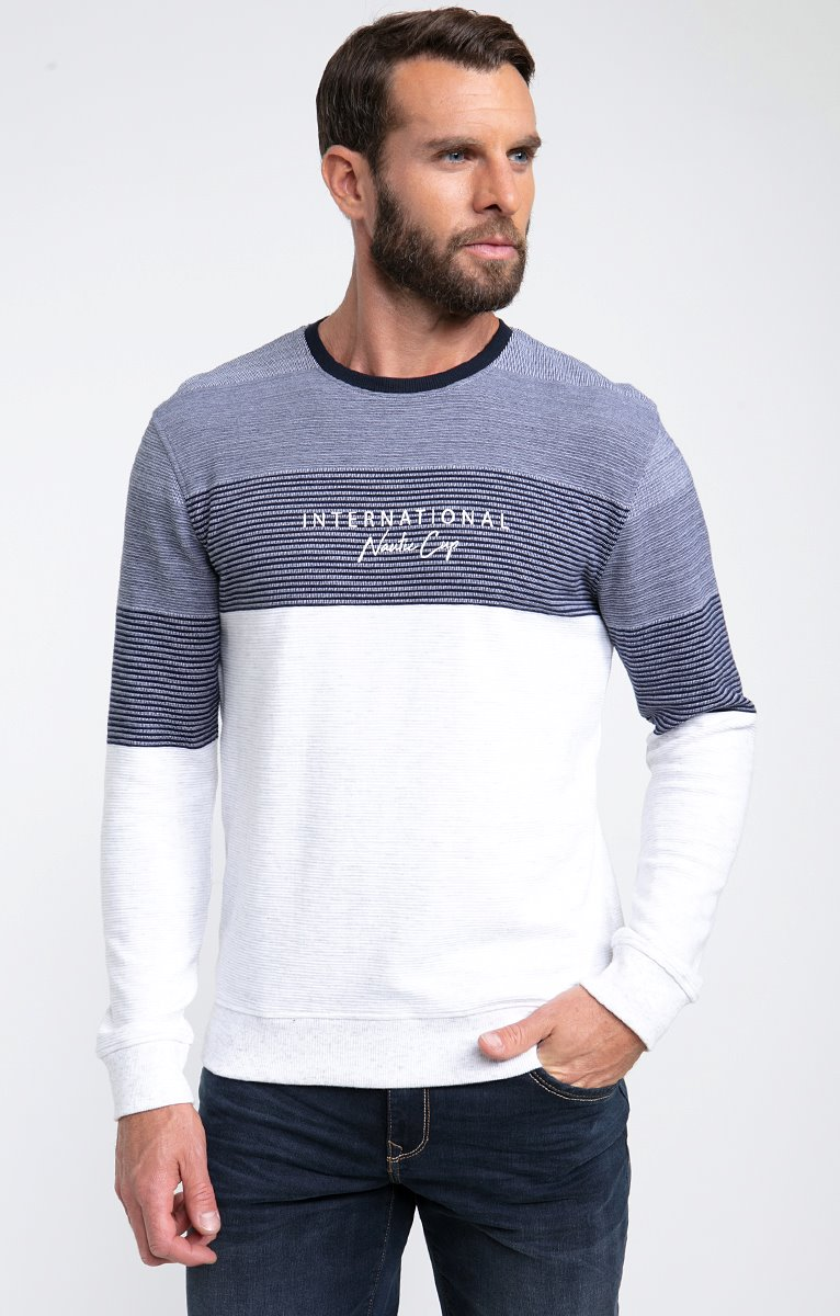 Tee shirt manches longues marin