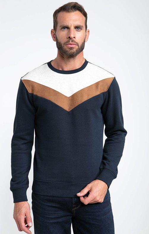 Sweatshirt manches longues triangle