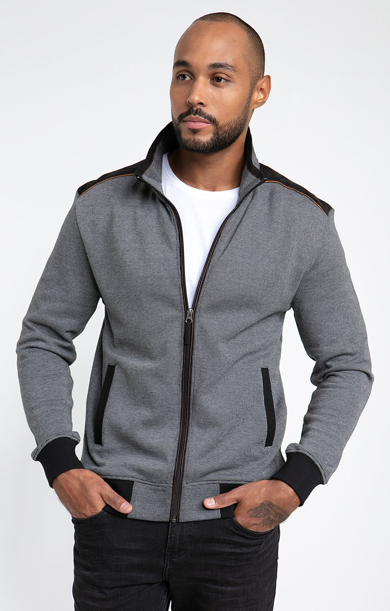 Gilet manches longues patchy