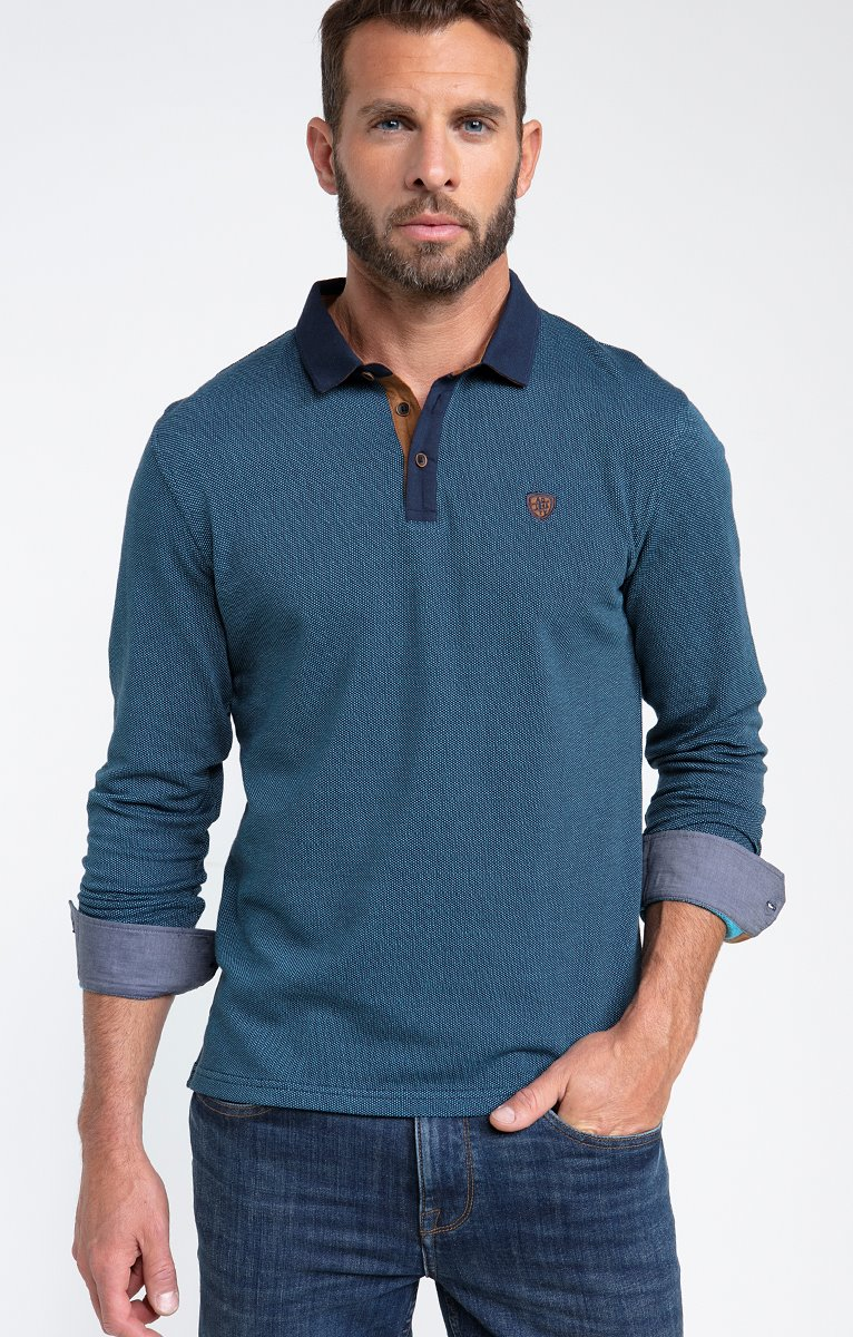 Polo manches longues sued