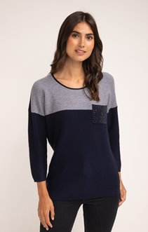 PULL TRICOTAGE LINKSLINKS COLOR BLOCK