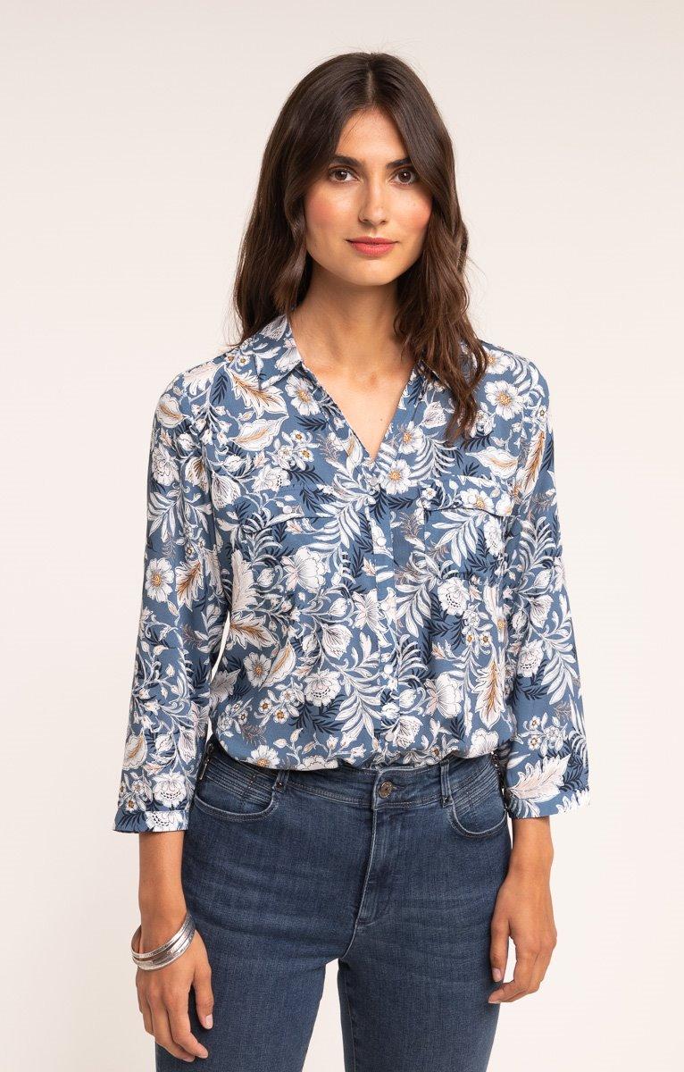 Chemise col chemise