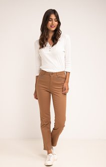 Pantalon droit avec strass