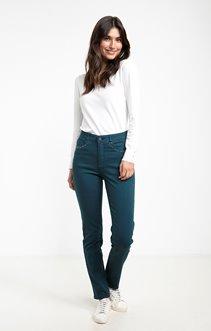 Pantalon slim avec strass
