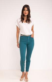 Pantalon slim avec ceinture