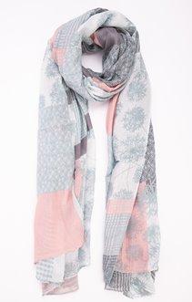 grand foulard imprimé