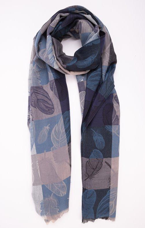 foulard jacquard classique