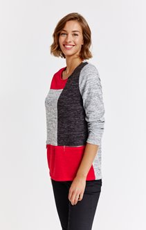 tee-shirt MANCHES LONGUES PATCH