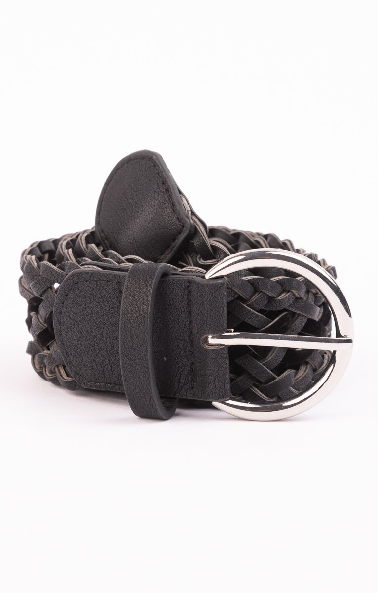 ceinture large tresse