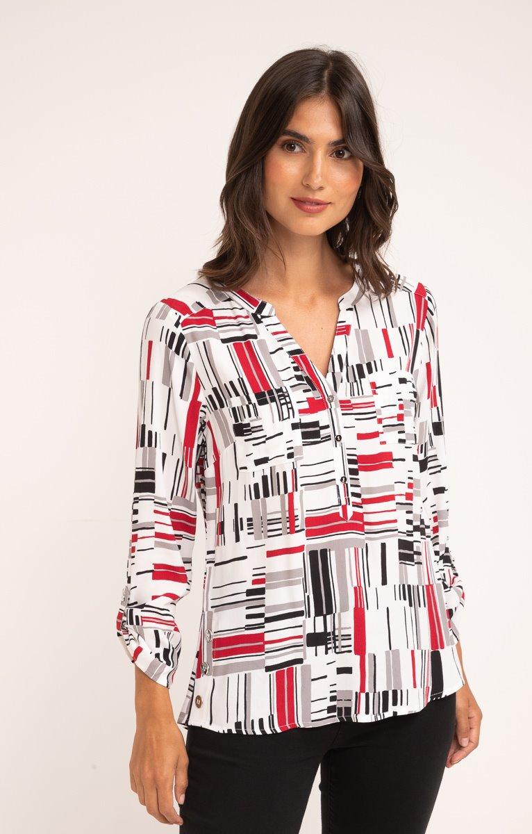 Tunique col chemise