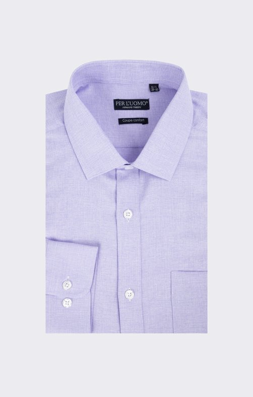 Chemise chiné poly
