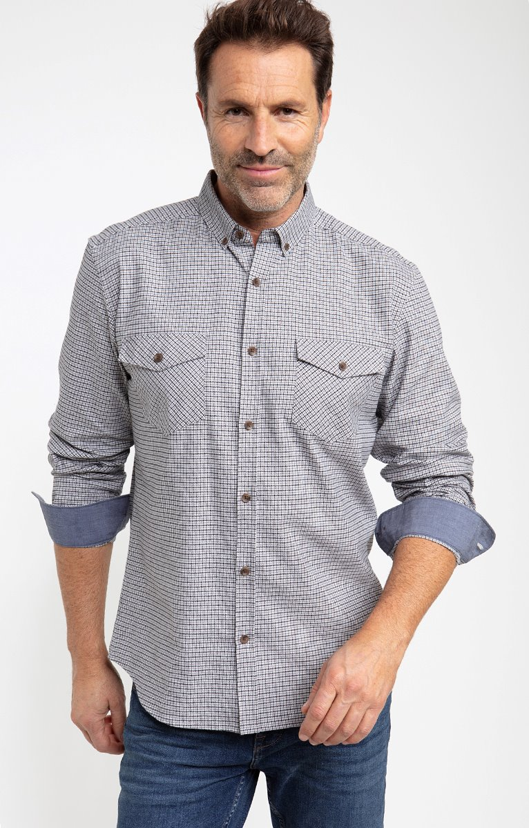 Chemise flanelle puce