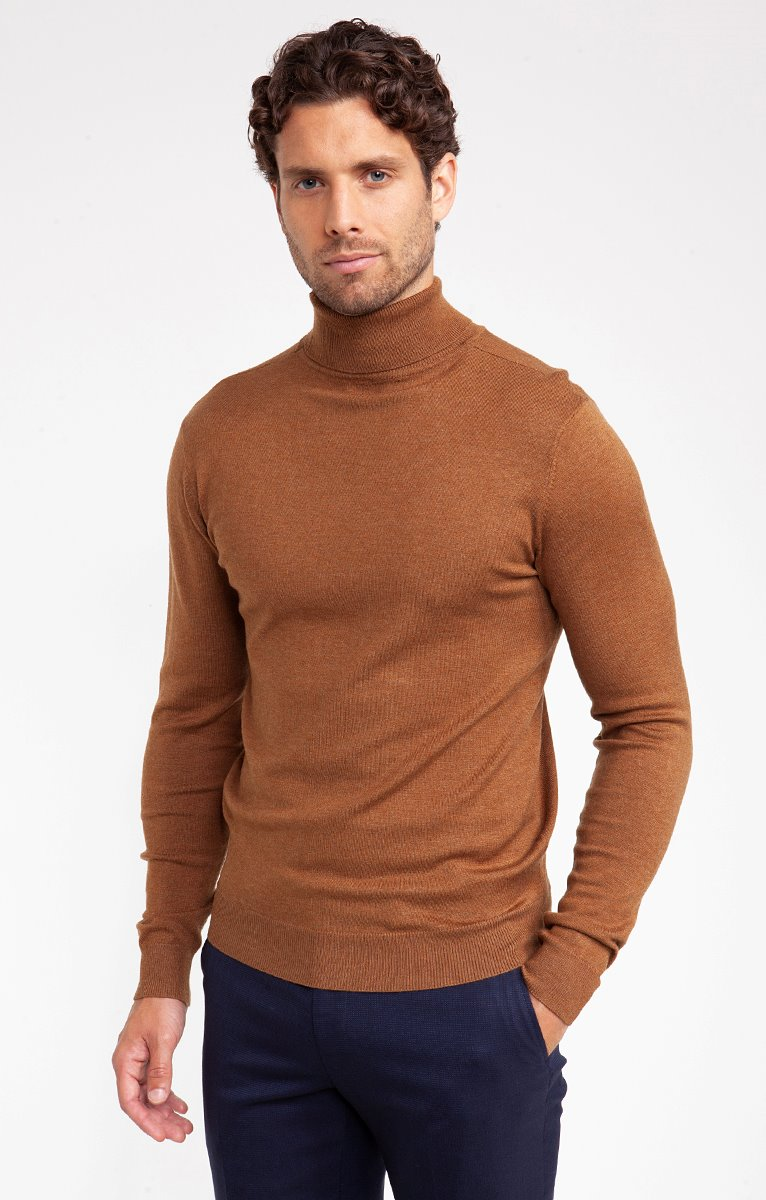 PULL COL ROULE UNI