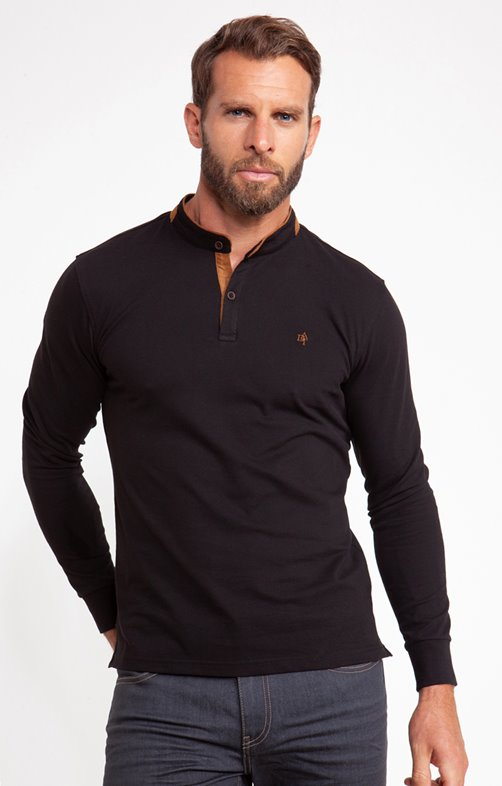 Tee shirt manches longues basic sued