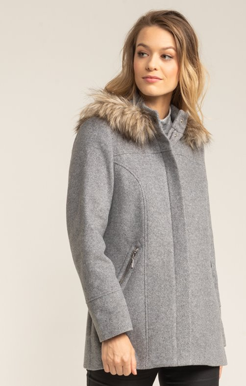 Manteau en lainage