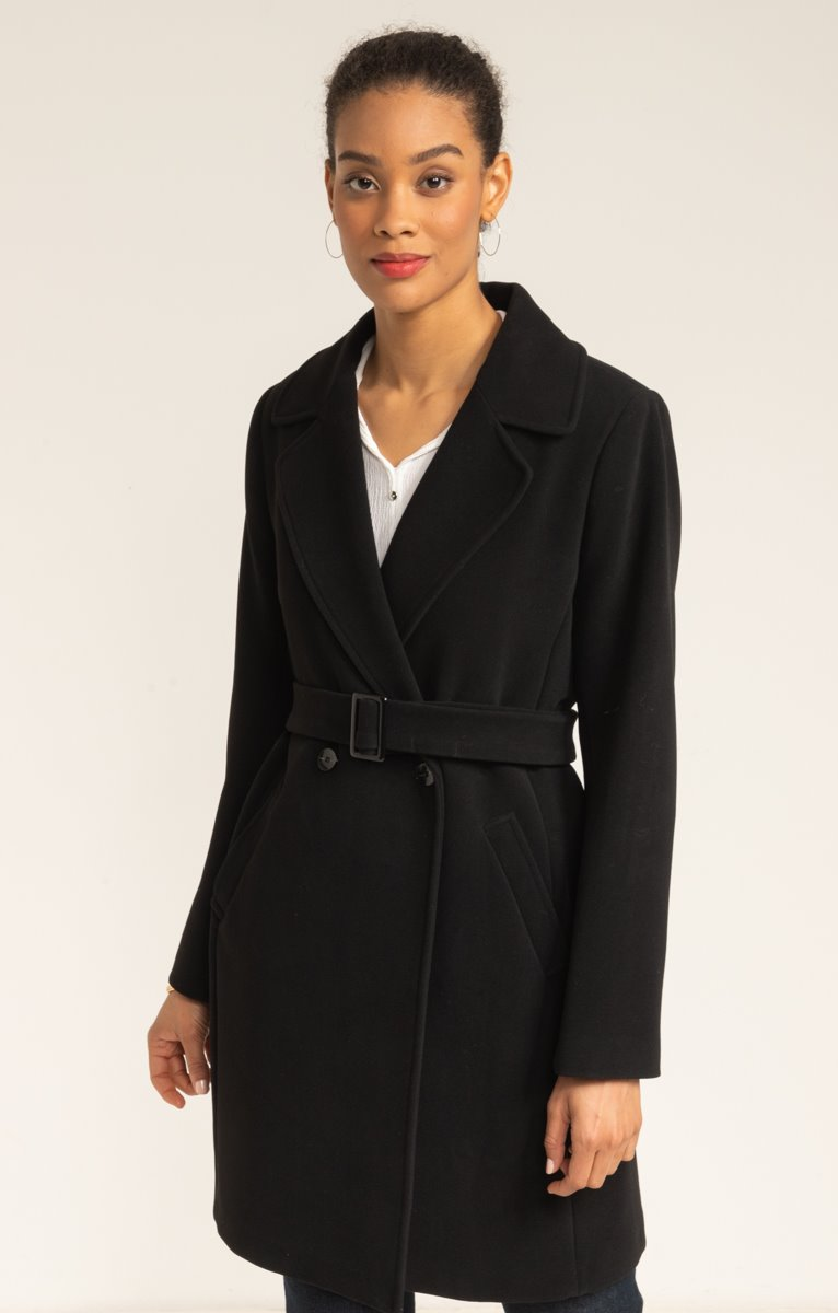 Trench col tailleur