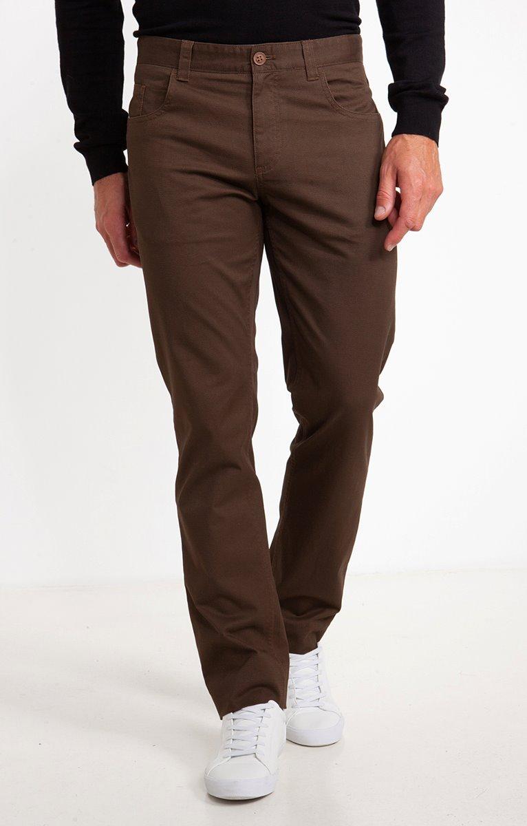 Pantalon 5 poches Quadri