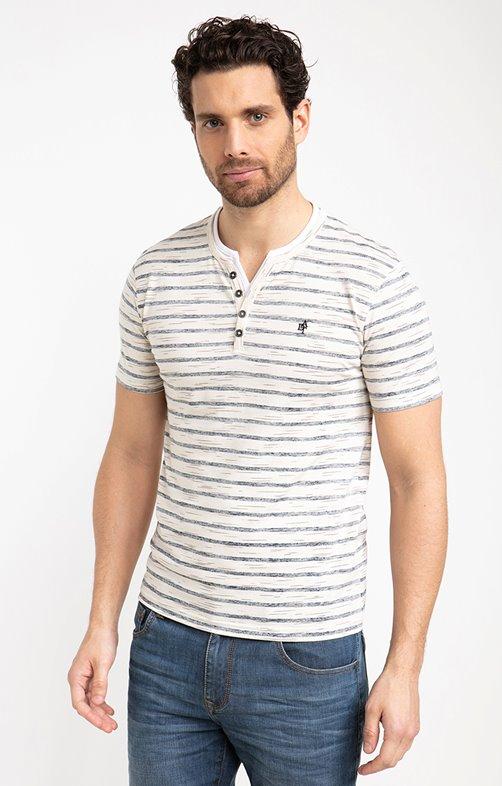 Tee shirt manches courtes marin