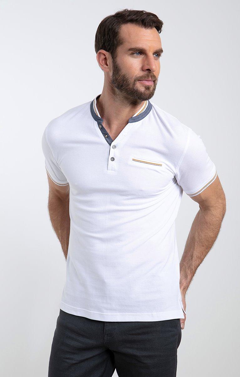 Tee shirt manches courtes mao
