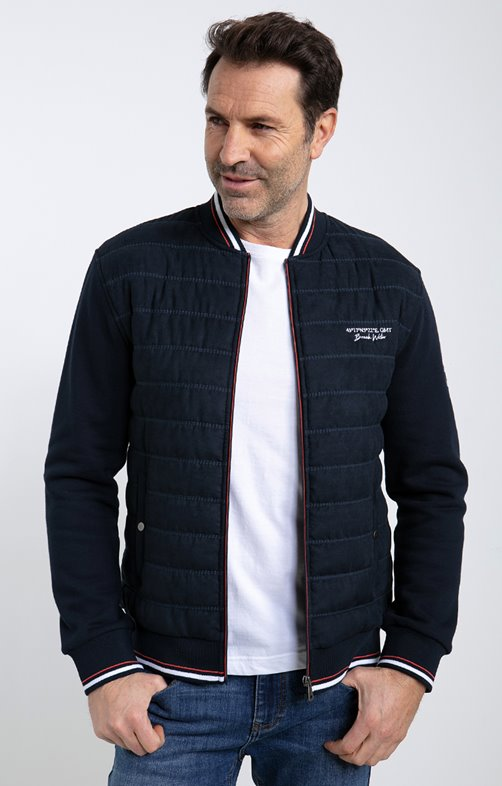 Gilet manches longues college