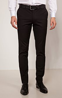PANTALON DE COSTUME SLIM NERODIO