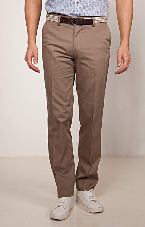 ce6171d7135 Pantalon poches italiennes Polycoton