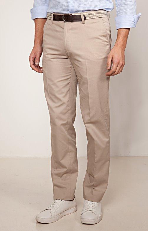 Pantalon poches italiennes Polycoton