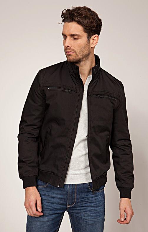 Blouson sportswear zippé