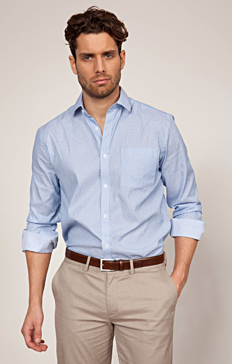 CHEMISE MANCHES LONGUES IMPRIMEE