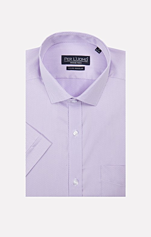 CHEMISE MANCHES COURTES FACONNEE