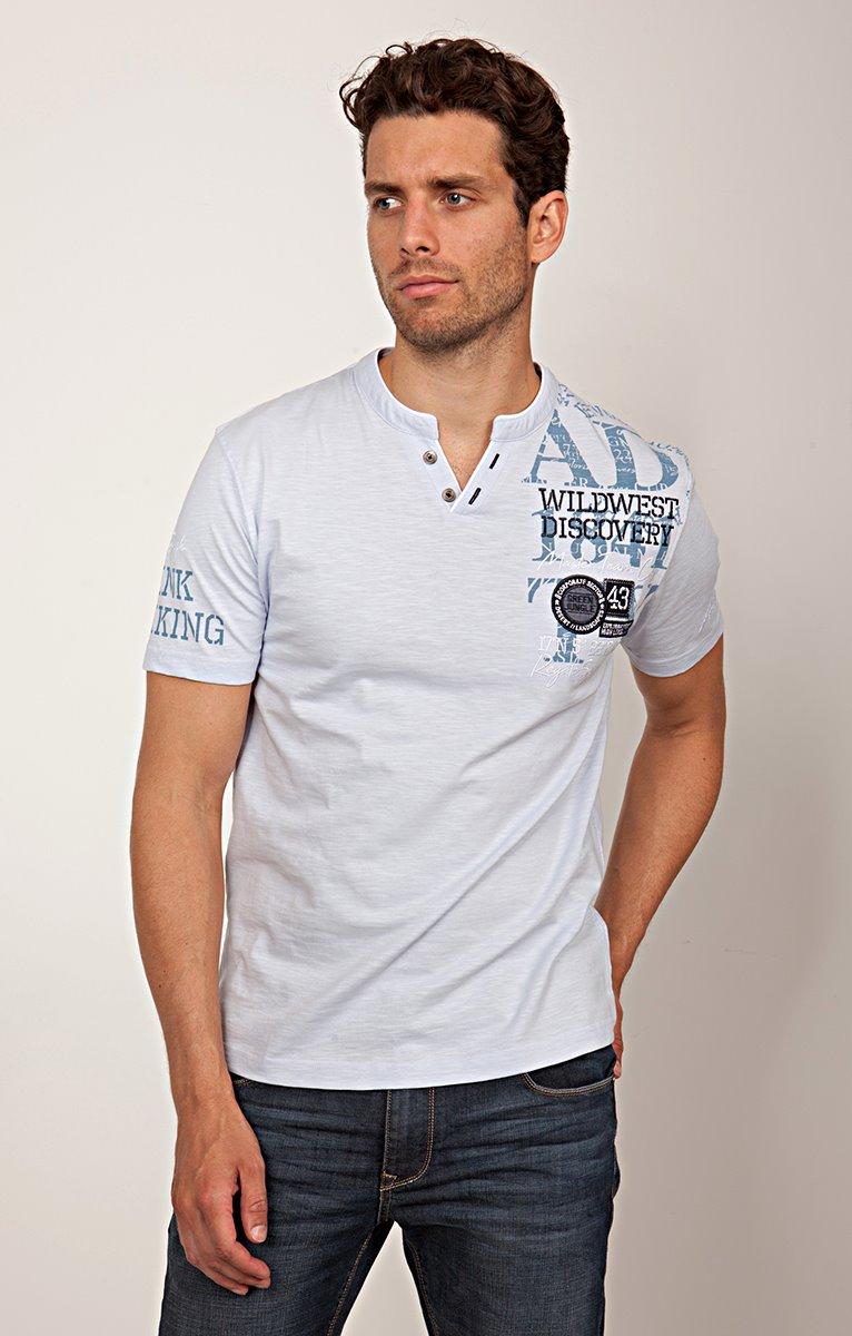 Tee shirt badgé 2v many